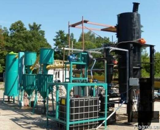 Газовый генератор, работающий на твёрдом топливе