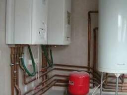 Газовый котел, колонка-ремонт, установка