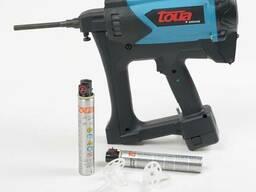 Газовый монтажный пистолет по бетону, металлу, кирпичу Toua