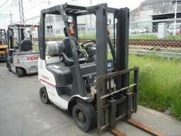 Газовый погрузчик Nissan P1F1A15D на 1. 5 тонны