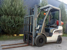 Газовый вилочный погрузчик 1, 5 тонны Nissan P1F1A15D б/у (га