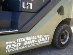 Газовый вилочный погрузчик 2,5 тонны UN FL25T б/у - фото 4