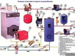 Газовые котлы, Газовые колонки