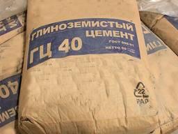 Цемент ГЦ-40 жаростойкий