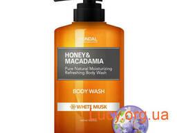 "Гель для душа ""Белый мускус"" Kundal Honey & Macadamia. .."