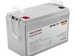 Гелевый аккумулятор LogicPower 12 Вольт 100Ач