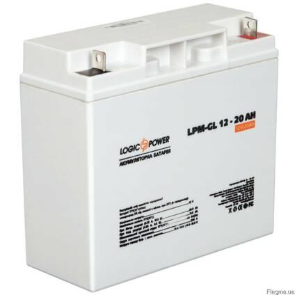 Гелевый аккумулятор LogicPower 12Вольт 20Ач