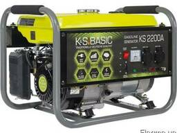 Генератор бензиновий K&S BASIC KS 2200A продам