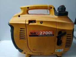 Генератор бензиновый NIK 2700i (2, 2 кВт) инверторный