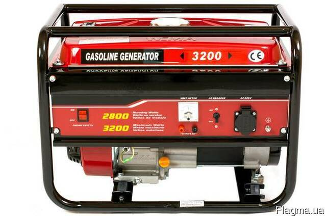 Генератор бензиновый WEIMA WM3200 (3,2 кВт, 1 фаза)