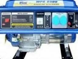 Генератор однофазный бензиновый Werk WPG 6500