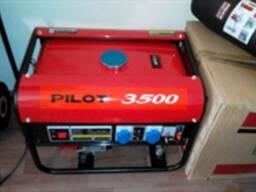 Генератор Pilot 3500, бензин, 2. 5квт.