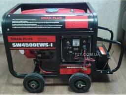 Генератор Swan Plus SW4500EWS-I бензиновый со стартером 2.8