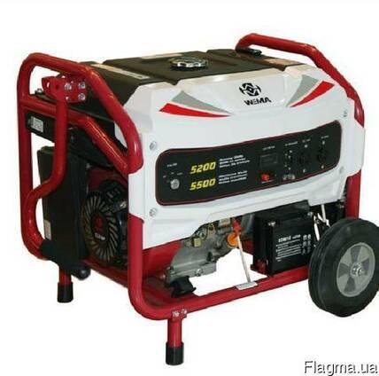 Генератор бензиновый Weima WM5500BE (5,5 кВт, электростарт