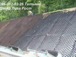 Георешетка объемная 16х16см, высота 5см - photo 3