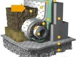 Геотекстиль для фундаментных дренажных систем