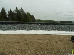 Геотекстиль под дорогу плитку щебень песок 200 250 300 400
