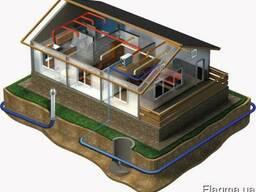 Геотермальные вентиляционные системы.