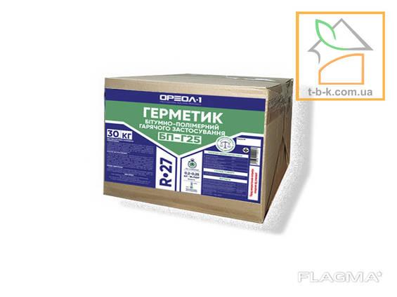 Герметик битумно-полимерный «БП-Г25» Oreol 1 R-27 30кг