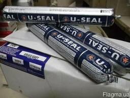 Герметик полиуретановый U-SEAL500 колбаса 600мл черный
