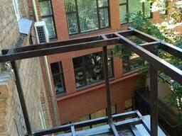 Герметизация козырьков балконов