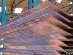 Гибка листового металла толщиной до 25 мм