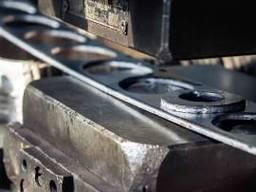 Гибка металла, гибка профильной трубы.