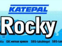 Гибкая кровля Katepal Rocky
