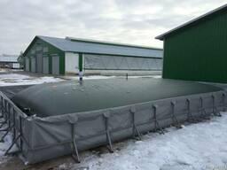 Гибкие, мягкие резервуары (емкости) для жидких удобрений