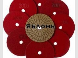 Гибкие шлифовальные полировальные диски «Яблонь», Польша