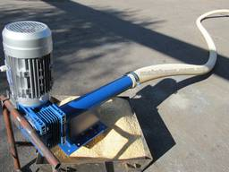 Гибкий шнек спиральный конвейер безосевой транспортер зерна