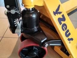 Гидравлическая тележка Рокла DFE20 Staxx, вилы 1150 мм