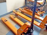 Гидравлическая тележка Рокла CBY-5.0T, Niuli вилы 1150 мм - фото 1