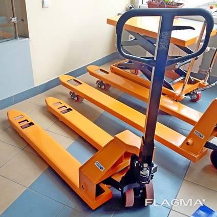Гидравлическая тележка Рокла CBY-5.0T, Niuli вилы 1150 мм