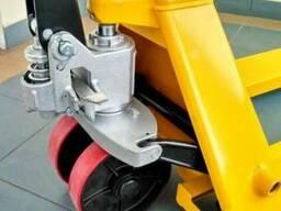 Гидравлическая тележка (рокла) Staxx, колесо ∅200, 2,5 тн. - фото 2