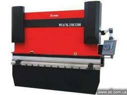 Гидравлические гибочные пресса с контроллером Yangli WC67K