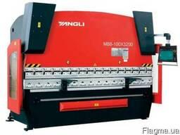 Гидравлические гибочные пресса Yangli серии MB8