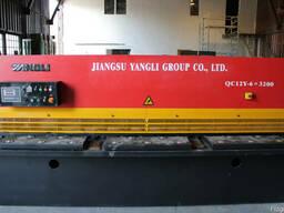 Гидравлические пресс ножницы Yangli серии QC12Y