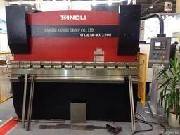 Гидравлический гибочный пресс Yangli WC67 K 63/2500 Листогиб