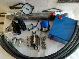 Гидравлика для дровокола с НШ 10, приводом НШ и манометром