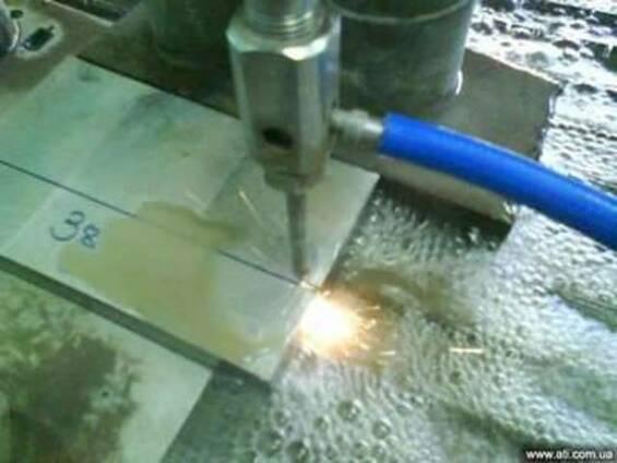 Гидроабразивная резка металлов Киев