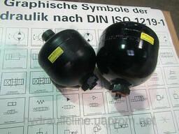 Гидроаккумуляторы баллонные, поршневые, мембранные Hydac