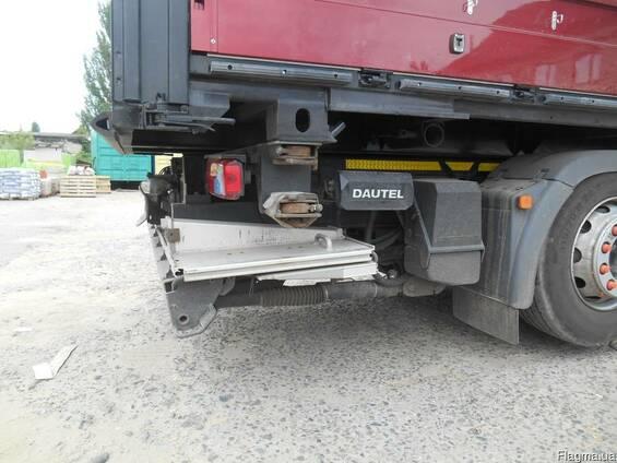 Гидроборт для грузового автомобиля