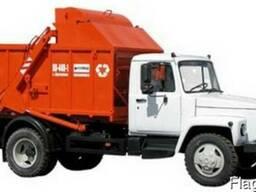 Гидроцилиндр ГЦ 125. 60. 1400. 2075. 50 КО-440А мусоровоз