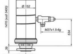 Гидроцилиндр КАМАЗ 65115 - фото 1