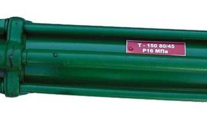 Гидроцилиндр поворота колес Т-150 (ГЦ-80х45х280)