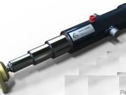 Гидроцилиндр самосвала 3-х штоковый (длина 1 штока 1342 мм)
