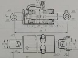 Гидроцилиндры Ц 100х200-3