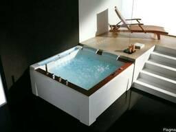 Гидромассажная ванна Golston G-U2608, 1800x1800x770 мм