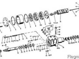 Гидростатическое управление ХУ 85-0/1 на погрузчик ДВ-1792